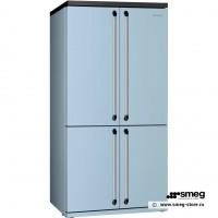 Smeg FQ960PB - отдельностоящий 4-х дверный холодильник side-by-side.