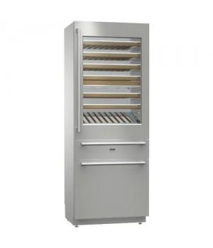 Встраиваемый комбинированный винный холодильник Asko RWF2826S
