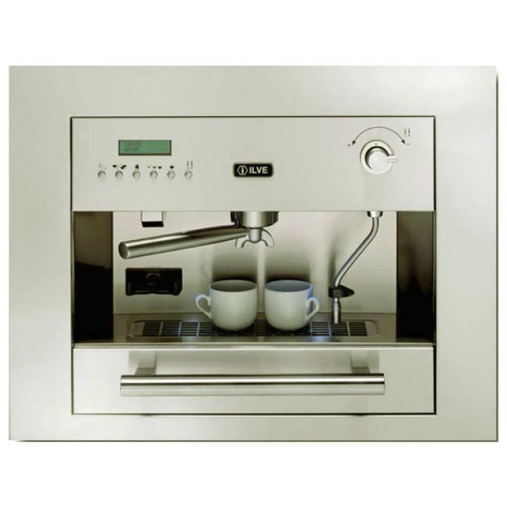 Кофемашина Ilve ES-645C Antique white (ручки латунь)